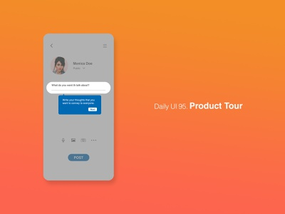 Daily UI 95/100 - Product Tour product tour app website mobile web ux ui design dailyuichallenge daily ui dailyui