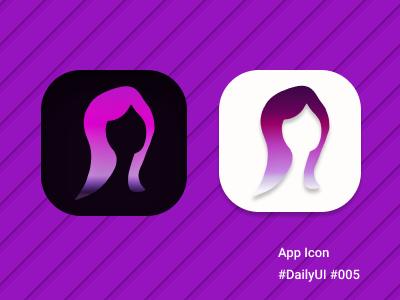 Daily UI 005 - App Icon graphic design userinterface dailyui app ux ui logo illustration icon design