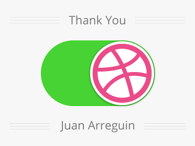Thank You Juan Arreguin