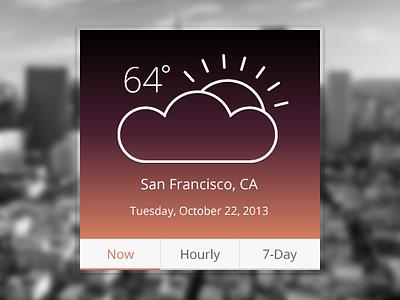 Weather Widget weather widget san francisco
