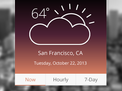 Weather Widget weather widget san francisco
