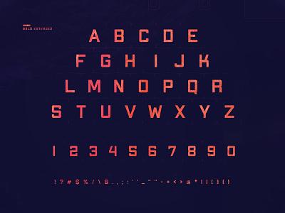 Apex Mk2  |  Bold Extended typography freebie free font sans serif font typeface design font type
