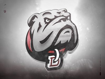 Dean College Bulldogs | Key Art logo design cinematic compositing cinema4d athletics design mascot logo identity sports logo sports design branding