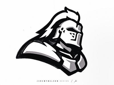 Knights | Mascot Logo Concept concept design procreate drawing sketch knight athletics icon design illustration mascot esports logo identity sports logo sports design branding