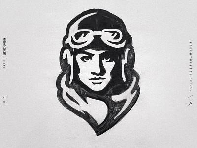 Pilots | Mascot Concept sports branding branding design aviator air force pilot athletics design illustration esports mascot logo identity sports logo sports design branding