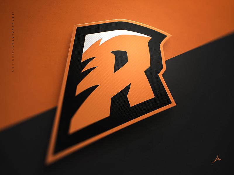 Roar   'R' Lettermark by Jeremy Nelson on Dribbble
