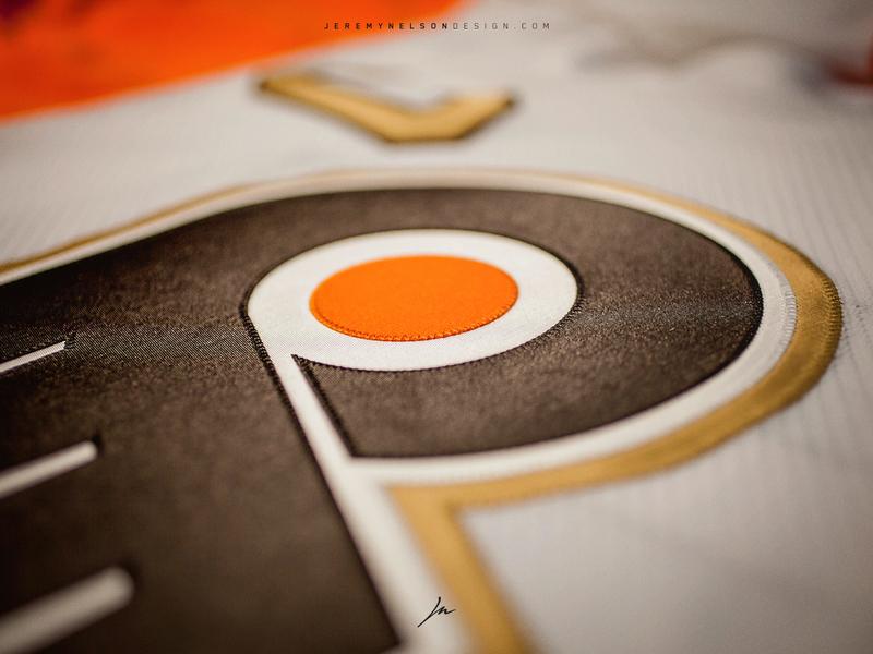 pretty nice 6b0ae ccfe2 Philadelphia Flyers 50th Anniversary   Uniform Design by ...