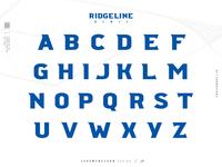 Ridgeline 201  |  FREE Font  |  Character Set