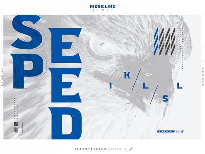 Ridgeline 201 | FREE Font | Typographic Poster 001