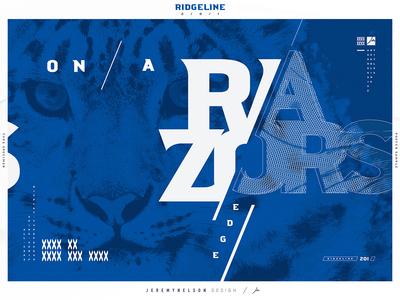Ridgeline 201 | FREE Font | Typographic Poster 002
