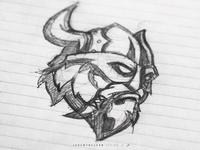 Raiders | Sports Branding | Sketches + Inspiration