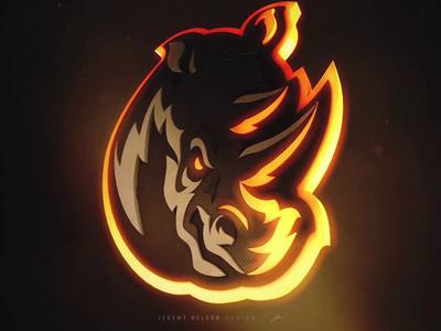 Rampage  |  Logo Reveal Animation