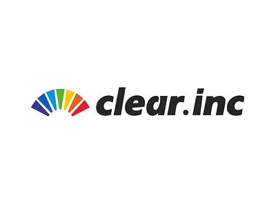 "Logo Design ""clear"" logo clear rainbow"