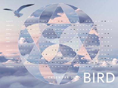 Bird Calendar Wallpaper typography collage 2017 bird wallpaper calendar