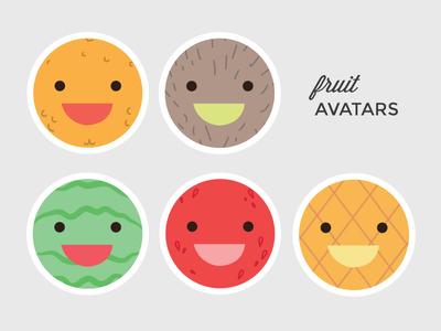 Fruit Avatars