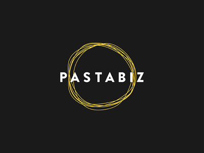 Pastabiz Logo brand identity logo branding pasta