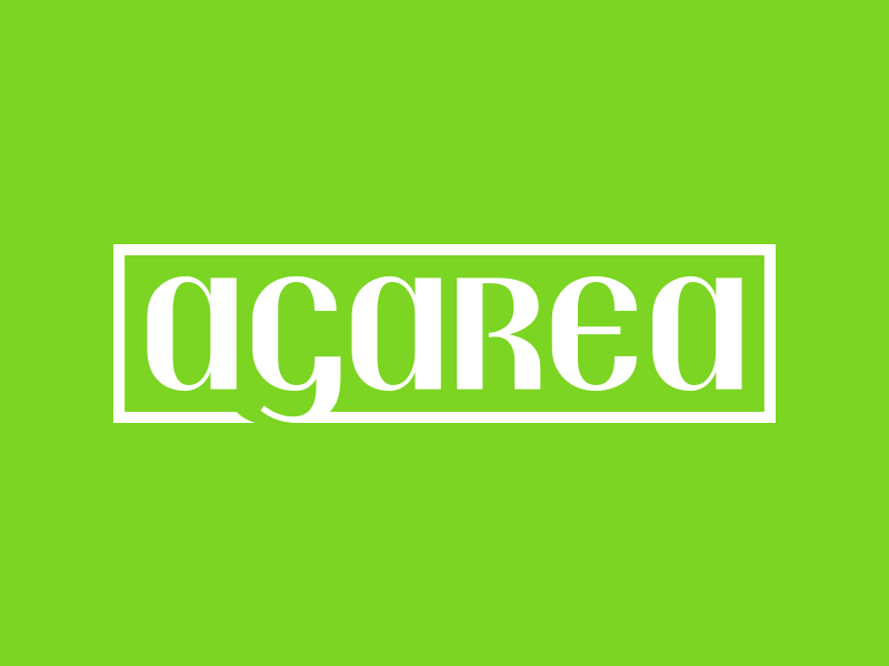 Agarea Market Logo organic food market farmers market logotype branding logo brand identity