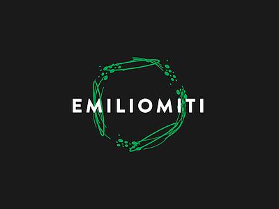EMILIOMITI Logo coffee food pasta branding logo brand identity