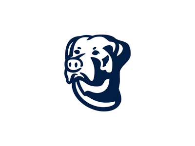 Chesapeake Bay Retriever Logo chesapeake bay retriever dog branding logo brand identity