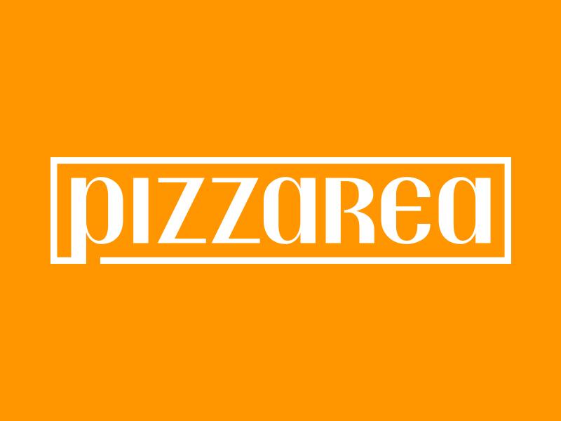 Pizzarea Logo pizza branding logo brand identity