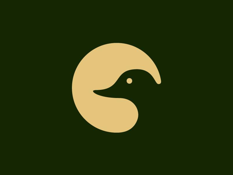 Gibson Horseshoe Logo Alternative hunting duck bird branding logo brand identity