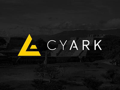 CyArk Logo branding logo brand identity
