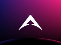 Arrowspace - Logo a monogram arrow space branding brand identity logo