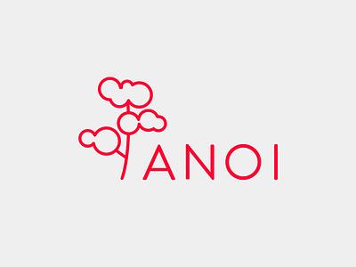 Anoi Logo logo tree