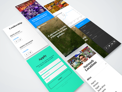 Mobile/Web UI  mobile web web design ui material website responsive