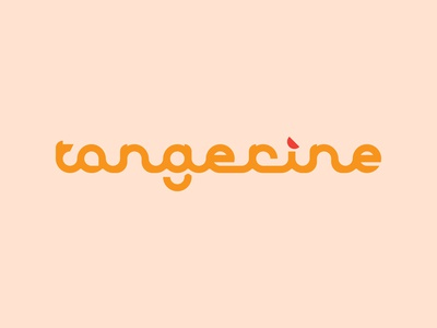 Tangerine Logo Concept