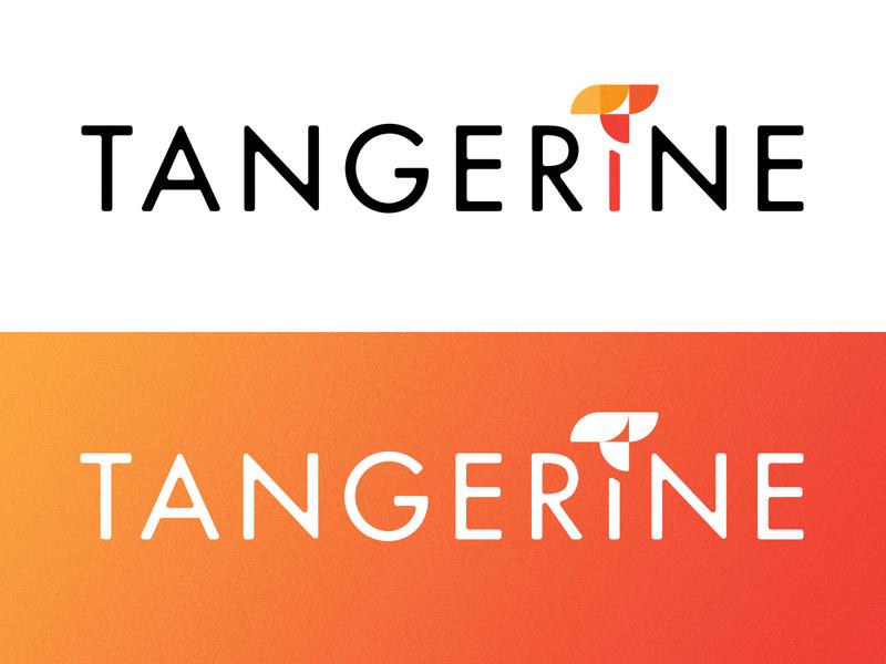 Tangerine Logo branding vector logo