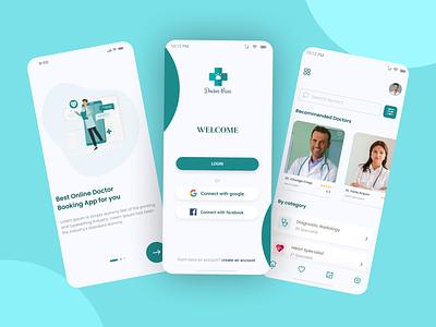 Online Doctor Booking Mobile App UI Design uiuxdesign app ui userinterface mobileui mobile app design mobile app ui user interface design mobile app ui design mobile ui