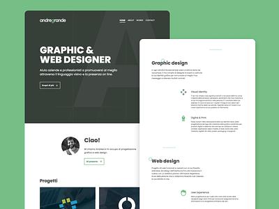 Personal website :: 2020 web design personal website