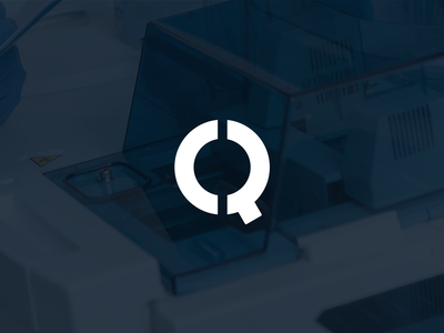 QML logo brand identity logo design