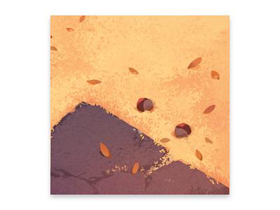 seasons nature texture illustration