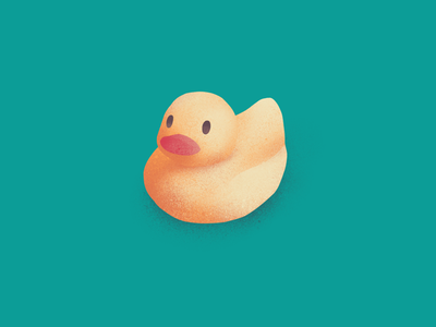 Duck illustration texture duck