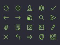 Chat App - Icon Set
