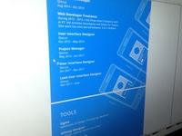 Blue Print Resume - SVG [Inkscape]