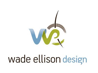 Wade Ellison Design - Logotype and Logomark logo design