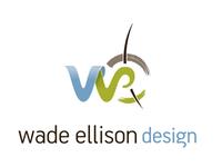 Wade Ellison Design - Logotype and Logomark