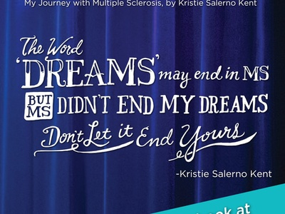 DreaMS magazine - Hand Lettering hand lettered font