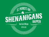 St. Patrick's Day T-shirt Design
