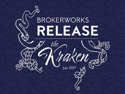 BrokerWorks Release Tshirt tshirt design