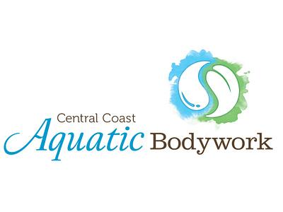 Logo for Aquatic Bodyworker, Natalie Hatter logo logo design