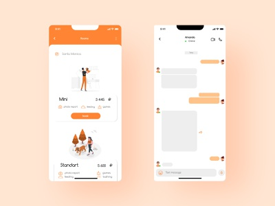 Hotel for pats Mobile App Ui ios hotel for animal app hotel app minimal app design ios ui design mobile app minimalism minimal app apple ios design ui