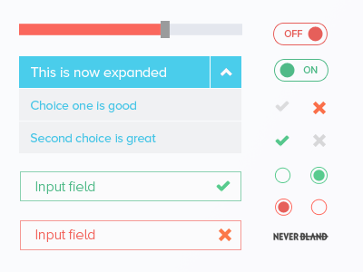 UI Kit ui web kit psd download icons vector arrow input field dropdown radio buttons menu