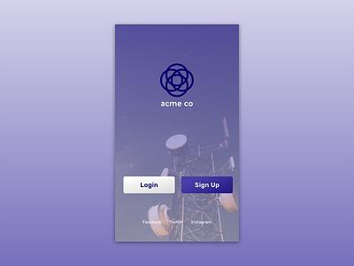 Daily UI #093 – Splash Screen splash screen user interface ui challange ui dailyui