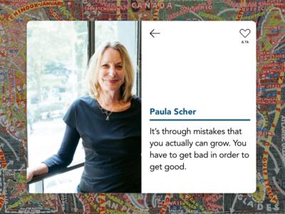 UI Card – Paula Scher