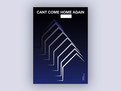 Home (Blankposter) home poster typo typography font type print blankposter