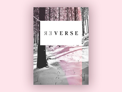 Reverse (Blankposter) reverse poster typo typography font type print blankposter